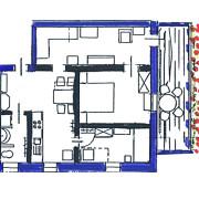 FeWo Loher - Grundriss Wohnung B