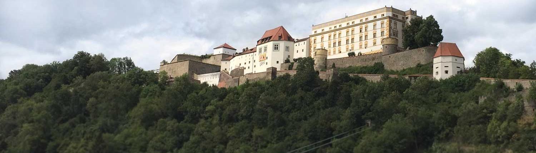 Passau - Blick auf die Veste Oberhaus