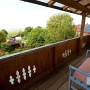 FeWo Loher - Wohnung A - Balkon, Südlage mit Panoramablick
