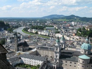 Salzburg (Österreich) - Blick auf die Stadt - © A. Teusner